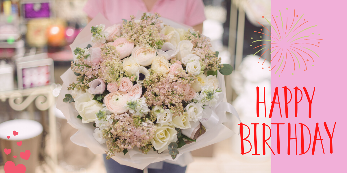 Birthday flowers and gift ideas