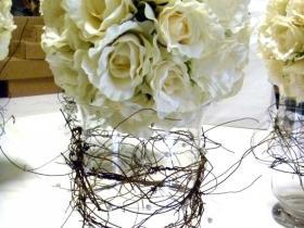 white lovely arrangement