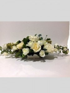 White Table Centrepiece