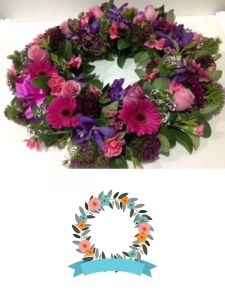 Purple & Pink Wreath