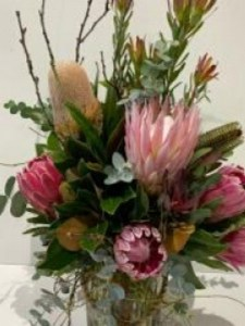 Rustic Vase Arrangement