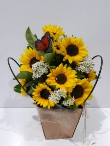 Sunflowers in a Bag